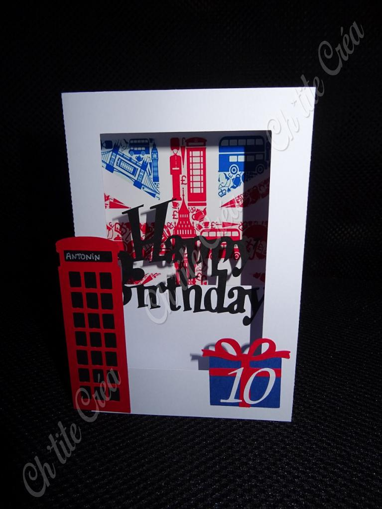 Carte box angleterre